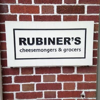 Photo taken at Rubiners Cheesemongers by chris s. on 10/26/2013