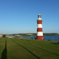 Photo taken at Plymouth Hoe by Thehorror T. on 7/6/2013