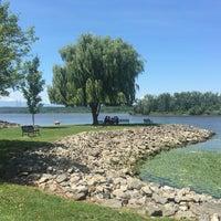 Photo taken at Henry Hudson Waterfront Park by NatashaTheNomad on 8/5/2016