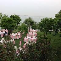 Photo taken at Saklı Deniz by Fatih on 5/17/2013