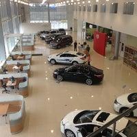 Photo taken at Honda Motors 104'km MKAD by Рамазан К. on 5/4/2013