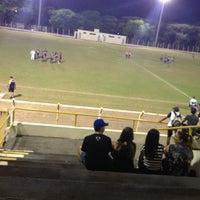Photo taken at Estadio Municipal De Guararapes by Gabrielly G. on 9/12/2013