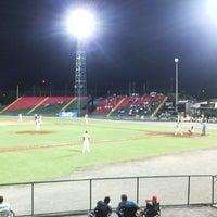 Photo taken at Estadio Kenny Serracín by Kevin  on 2/3/2015