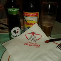 Photo taken at Pizzaria Paulino by Silvia A. on 2/23/2014