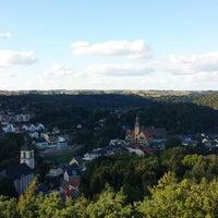 Photo taken at Wachbergturm by Matthias L. on 9/27/2013