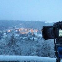 Photo taken at Wachbergturm by Matthias L. on 1/25/2014