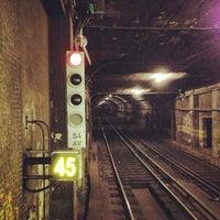 Photo taken at Metro Avenida [AZ] by Tiago M. on 8/30/2013