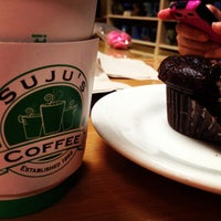 Photo taken at Suju's Coffee & Tea by Jolly F. on 8/13/2013