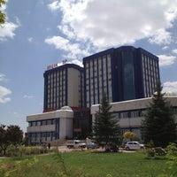 Photo taken at Tıp Fakültesi by Aaaaa İ. on 8/16/2013