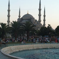 Photo taken at Sultanahmet Square by Hakan Y. on 7/24/2013