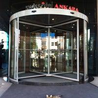 รูปภาพถ่ายที่ Swissôtel Ankara โดย Hakan Y. เมื่อ 6/27/2013