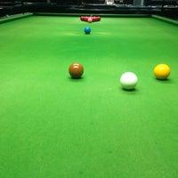 Photo taken at Punggol Billiards by Wilson L. on 3/25/2014