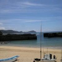 Photo taken at 加世間漁港 by maru i. on 7/6/2013