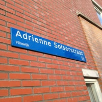 Photo taken at Adrienne Solserstraat by Martijn K. on 1/12/2013
