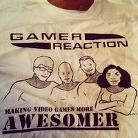 Photo taken at Gamer Reaction's Secret Base by Dianna L. on 4/19/2014