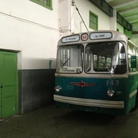 Снимок сделан в Музей городского электрического транспорта пользователем Andrei K. 2/22/2013