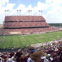 Photo taken at Kyle Field by Logan Y. on 8/31/2013