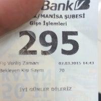 Photo taken at Vakifbank Malta Subesi by Emrah Joe G. on 3/2/2015