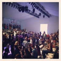 Photo taken at The Stage At MBFW by ShopSaveSequin on 9/5/2013