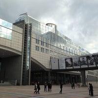 Photo taken at European Parliament MOY by Raf K. on 5/9/2013
