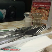 Photo taken at Papa John's Pizza by H D. on 3/17/2014