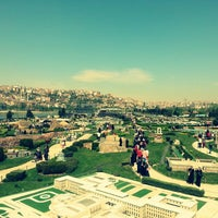 Photo taken at Miniatürk by Uğur K. on 4/28/2013