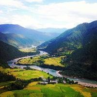 Photo taken at Punakha by Kit 阿. on 10/4/2013
