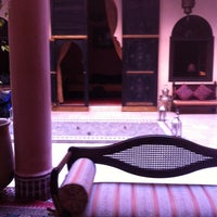 Photo taken at Riad Yacout by Bram C. on 6/6/2014