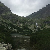 Photo taken at Velické pleso by Lucie S. on 8/15/2014