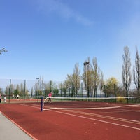 Photo taken at Теннисные Корты. Украинка by Julie C. on 4/26/2015