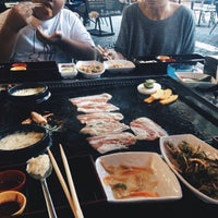 Photo taken at Hwa-Ro Big Stone Grill by Alexandra V. on 6/1/2015