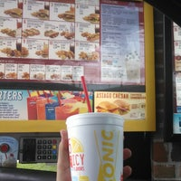 Photo taken at SONIC Drive In by AJ. R. on 6/19/2014