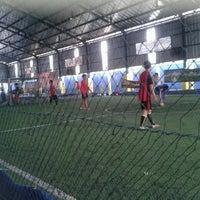 Photo taken at Champion Futsal Arena by Mita N. on 8/30/2013