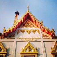 Photo taken at วัดทองพุ่มพวง by Orawan T. on 12/28/2013