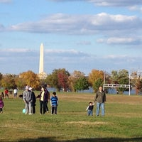 Photo taken at Gravelly Point Park by Josh R. on 10/21/2012