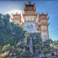Photo taken at Nhà Thờ Mũi Né by Pong C. on 11/14/2014
