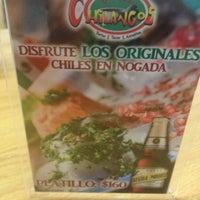 Photo taken at Fonda Chilangos by Oscar G. on 10/12/2013