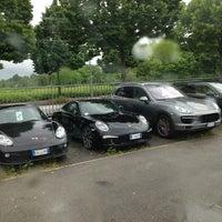 Photo taken at Porsche Italia by Marco D. on 5/17/2013