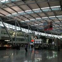 Photo taken at Düsseldorf Airport (DUS) by Remko P. on 6/3/2013
