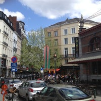 Foto scattata a Place Saint-Géry / Sint-Goriksplein da Remko P. il 5/9/2013