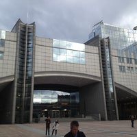 Photo taken at European Parliament MOY by Remko P. on 5/9/2013
