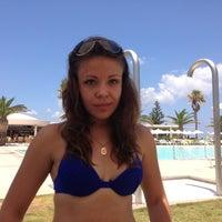 Photo taken at Beach of Lyttos Beach by Макс Х. on 7/20/2013