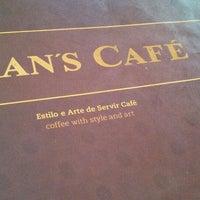 Photo taken at Fran's Café by Eduardo A. on 3/23/2013