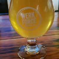 Photo taken at Werk Force Brewing Co. by Greg C. on 7/29/2018