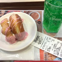 Photo taken at Mister Donut by 水兵 on 3/22/2017