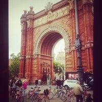 Foto scattata a Arco del Triunfo da Katerina Z. il 5/26/2013
