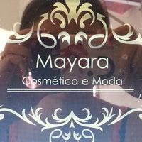 Photo taken at Mayara Cosmético e Moda by Nandynha M. on 9/21/2014