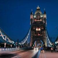 Photo taken at Tower Bridge by Hasan Hüseyin S. on 5/26/2013