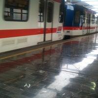 Photo taken at Metrorrey (Estación Hospital) by Blauered  on 6/12/2013