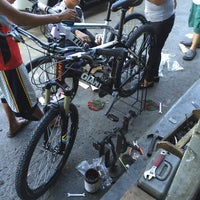 Photo taken at Bicycle World Buendia by Rico Angelo R. on 3/8/2015